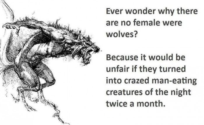 Female Werewolves?