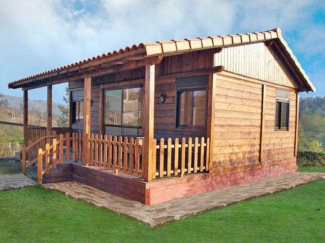 Casas de madera baratas for Precios cabanas de madera baratas