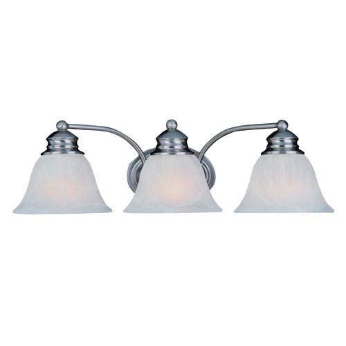 Maxim Lighting International 2688 FTSN Malaga Three-Light ...