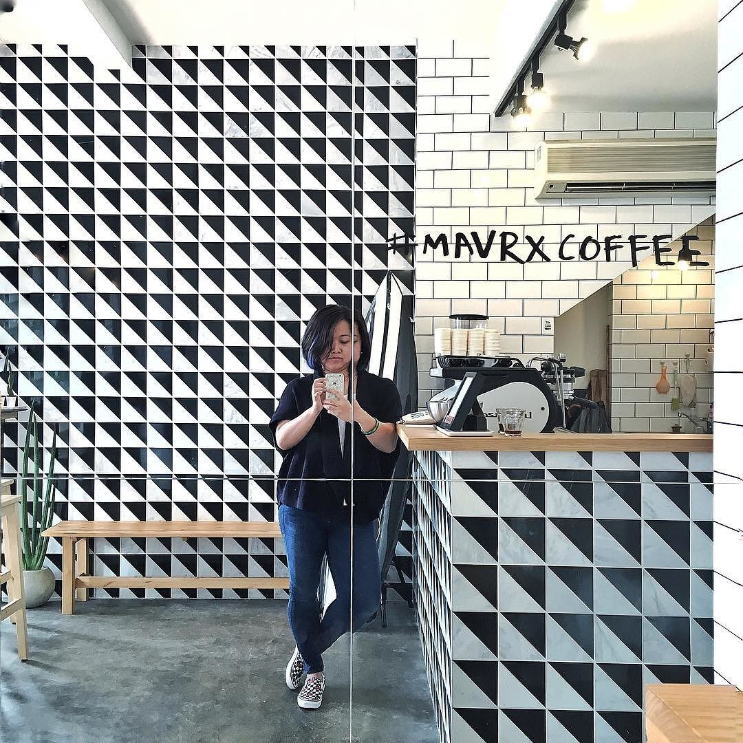 Hooray they're finally open on Saturdays! I've got a latte love for #mavrxcoffee #coffeeshopvibes #tdlcoffee  by trinnadeleon