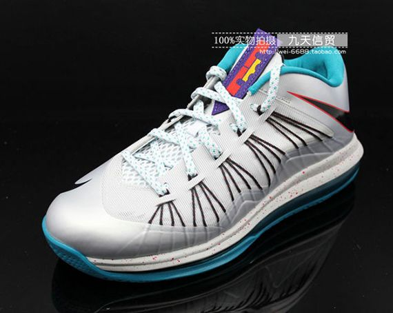 """info for 25149 52b68 Nike Air Max LeBron 10 Low """"Akron Aeros"""" (More Photos)  KicksOnFire.com.  Just the right amount of splashes of color."""