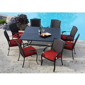 Madrid 9 Piece Patio Dining Set Seats 8 I Also Like This From 999