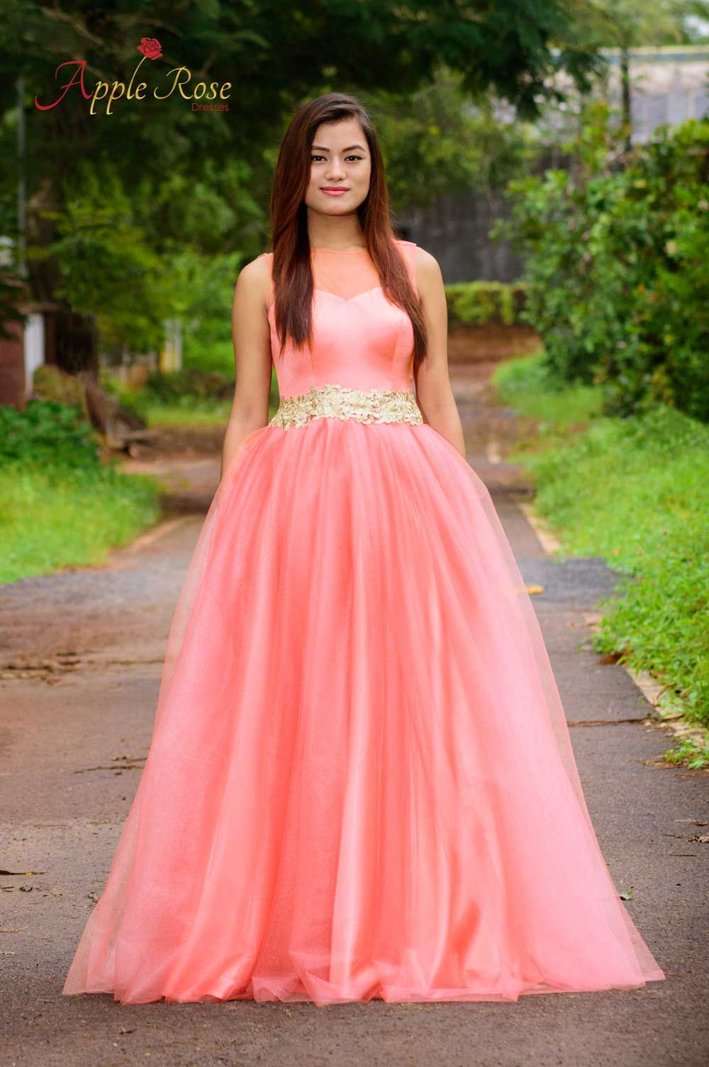 Peachy Princess Gown | Apple Rose Dresses | Sexy Dresses | Pinterest