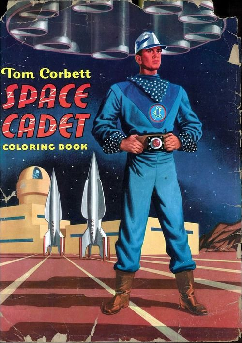 Space Cadet Coloring Book