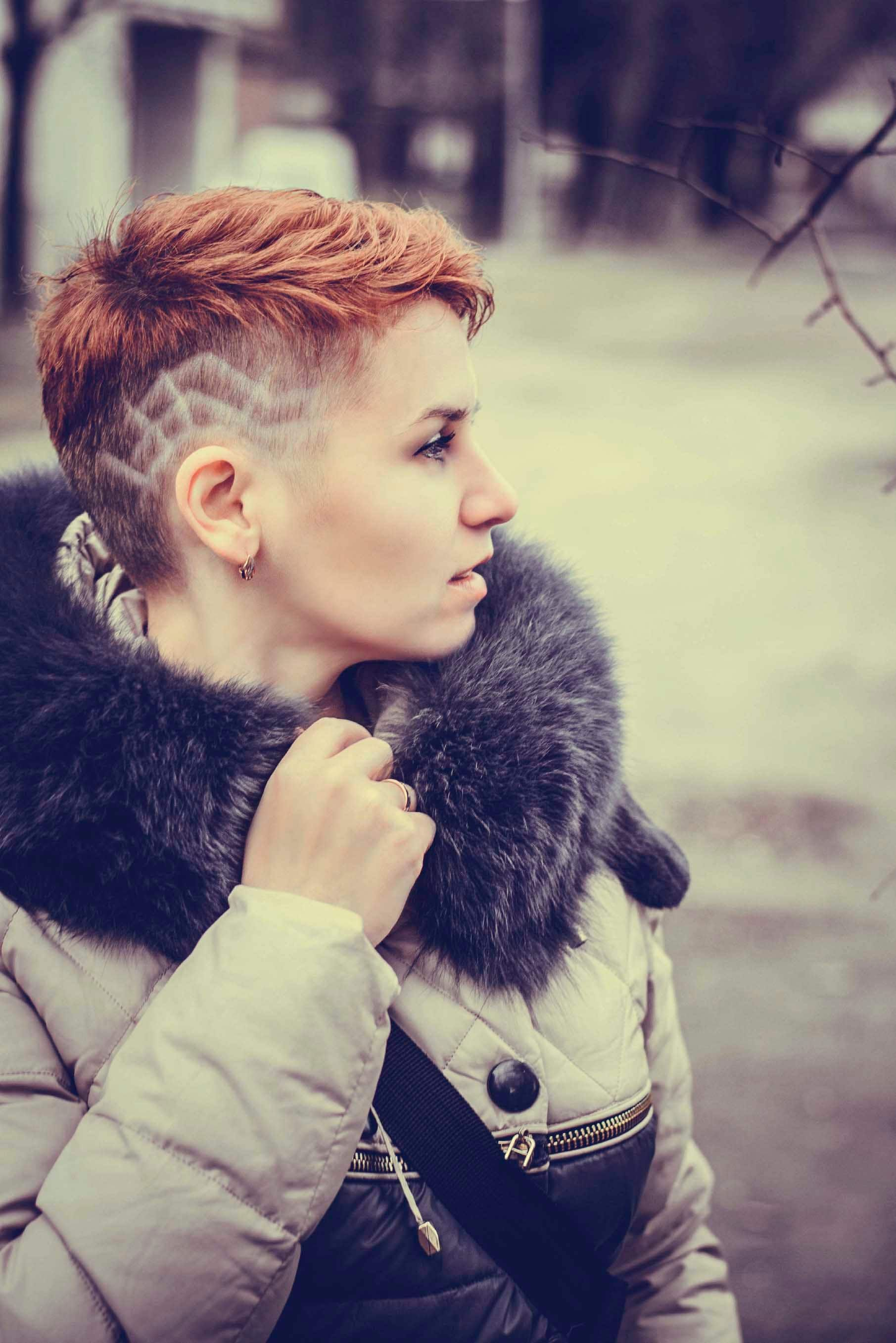 Shaved Hairstyles for Women: 6 Short Hairstyles to Inspire #hairstyles #hairdare #daringhair #womenshair