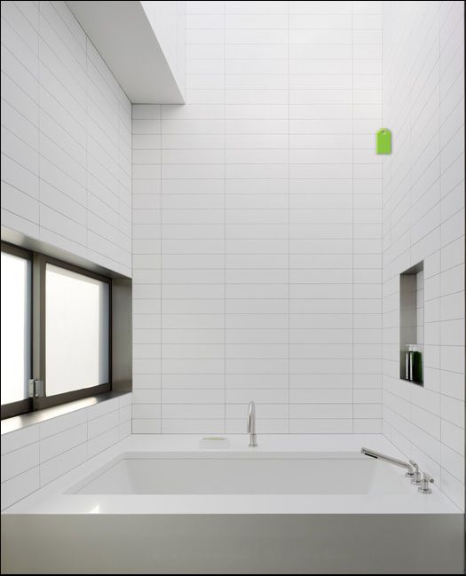 Modern White Bathroom 4 X 16 Ceramic Tiles And We Do Carry Glossy