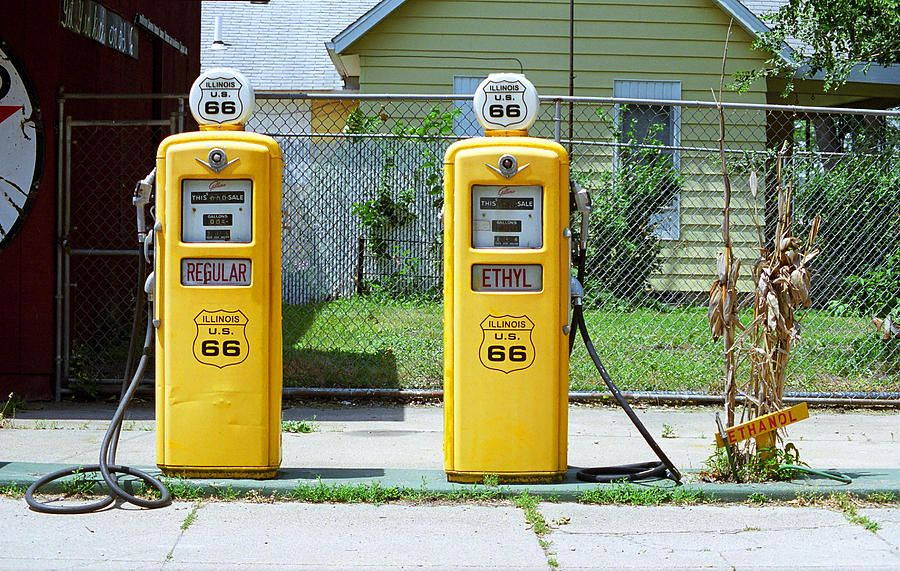 Route 66 - Illinois Gas Pumps by Frank Romeo | A STATE OF MIND ...