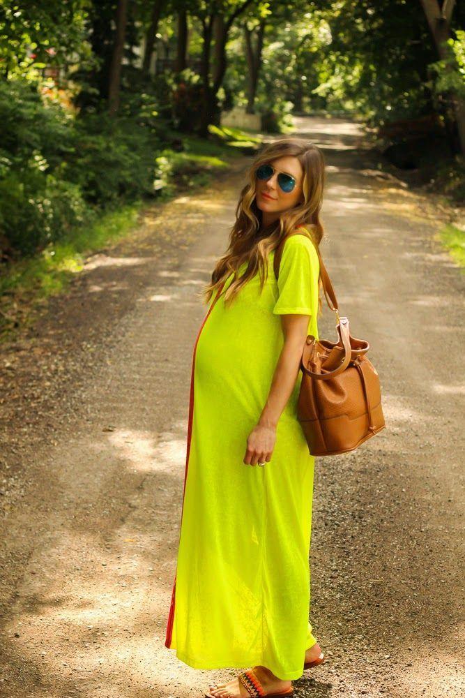 inspiração de street fashion maternity - Estilo Dramático