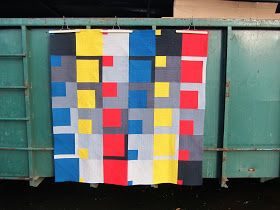 Let's begin sewing...: An Ode To The Past - QuiltCon Entry 2015