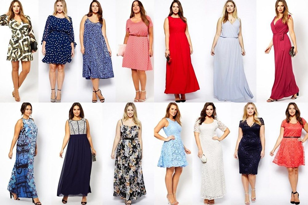 Spring Summer Plus Size Wedding Guest Dresses By Asos Wedding