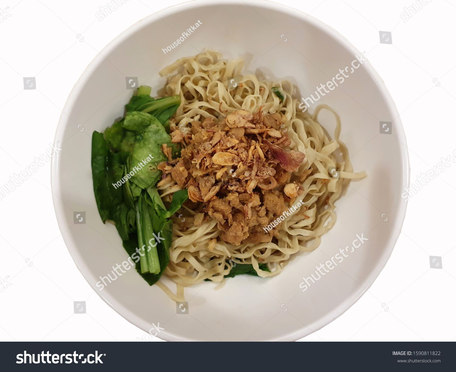 Indonesian food named mie ayam on white bowl #Sponsored , #SPONSORED, #named#food#Indonesian#mie