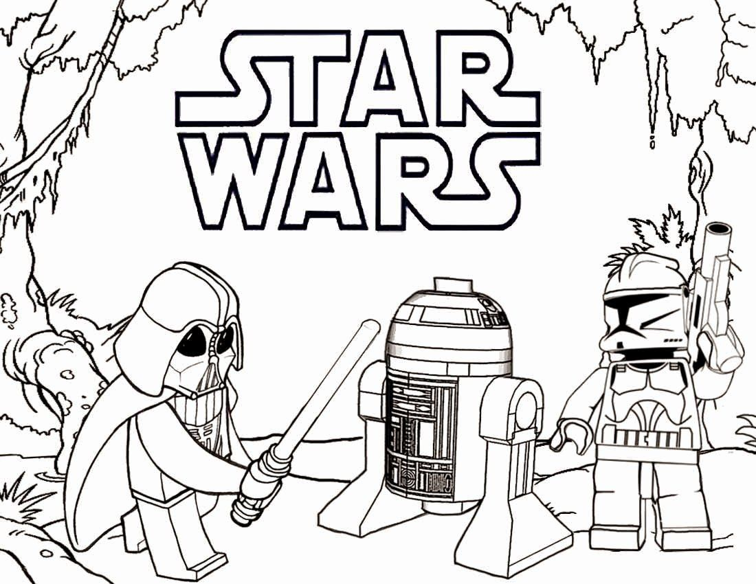 Lego Star Wars Coloring Page Inspirational Printable Lego Coloring Pages Star Wars Silhoue In 2020 Star Wars Coloring Sheet Lego Coloring Pages Star Wars Coloring Book