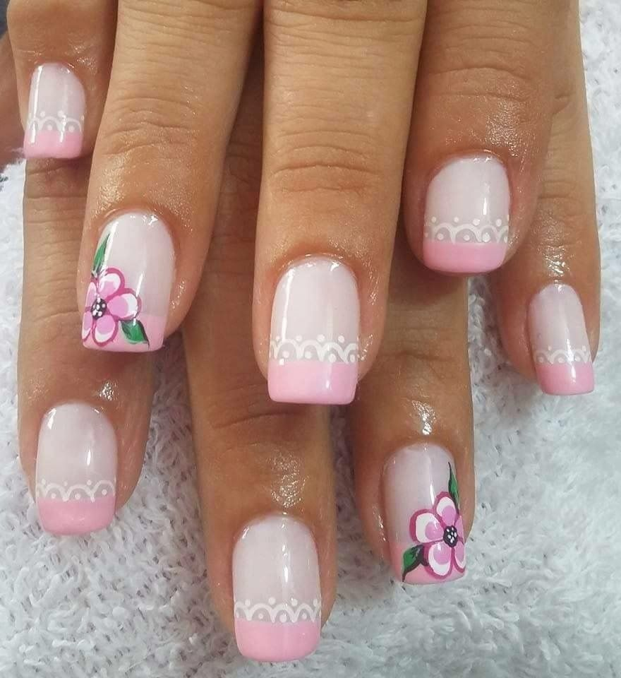 Pin by Jackie Blakey Hagerman on More french tip nail designs ...
