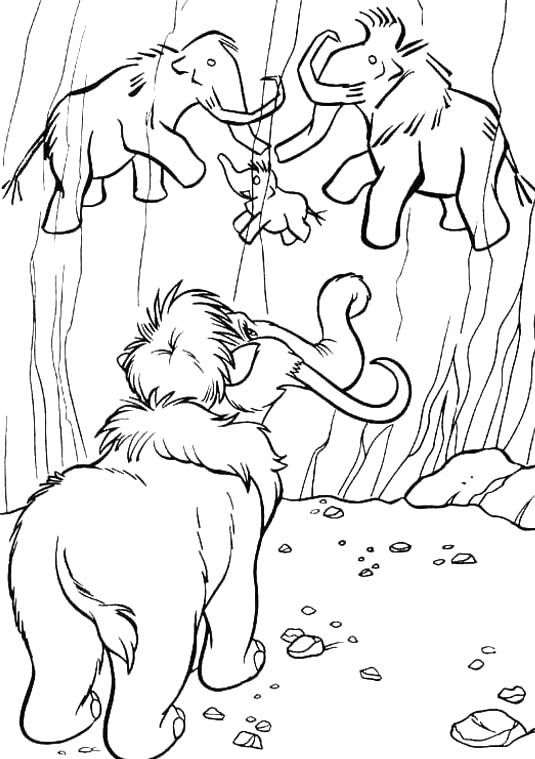 Manny See Drawing Mammoth Coloring For Kids Coloring Pages Disney Coloring Pages Coloring Pictures
