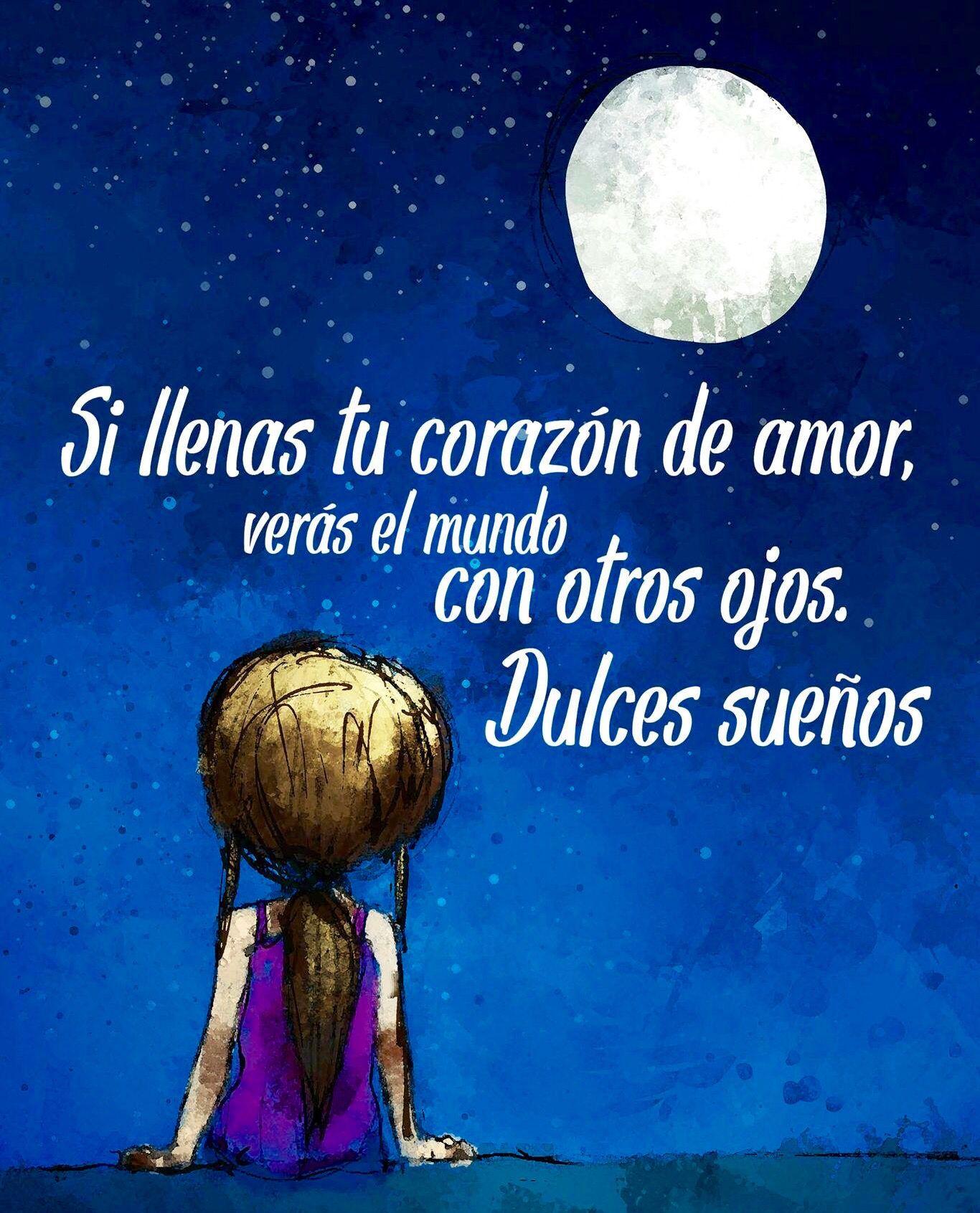 Si llenas tu coraz³n de amor veras el mundo con otros ojos