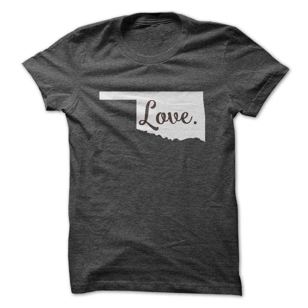 [Hot tshirt name tags] Love Oklahoma Top Shirt design Show