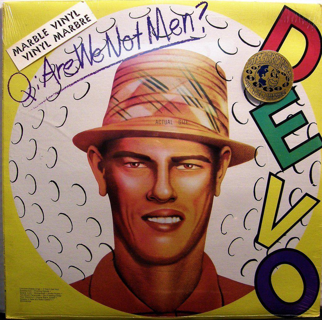 Q Are We Not Men A We Are Devo Devo In 2020 Are We Not Men Men Marble Vinyl