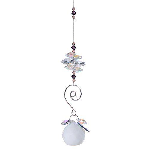 HD 30mm Chritmas Ornament Crystal Ball Chandelier Prism ...