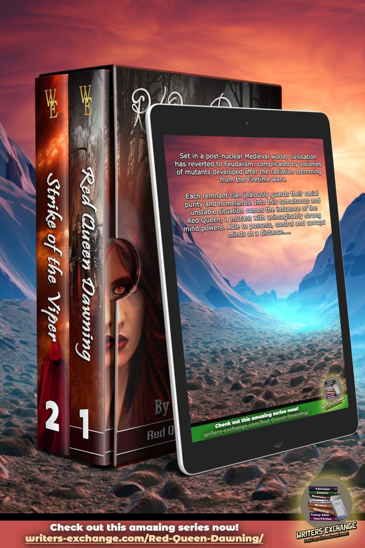 Red Queen Series By Dan Donoghue In 2020 Red Queen Dystopian Queen