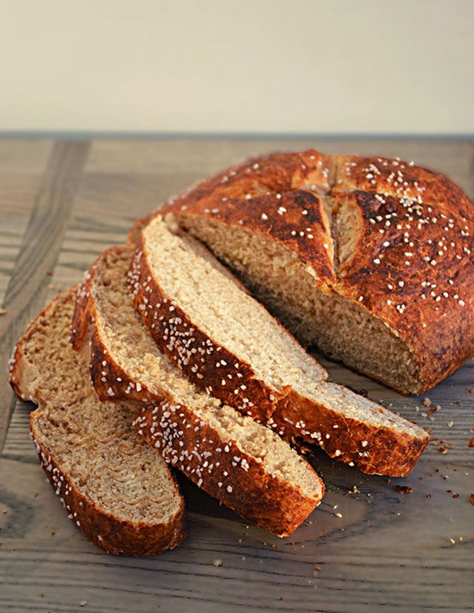 Make Pretzel Bread at home and your sandwiches will never be the same.  I'm obsessed. | blog.hostthetoast.com
