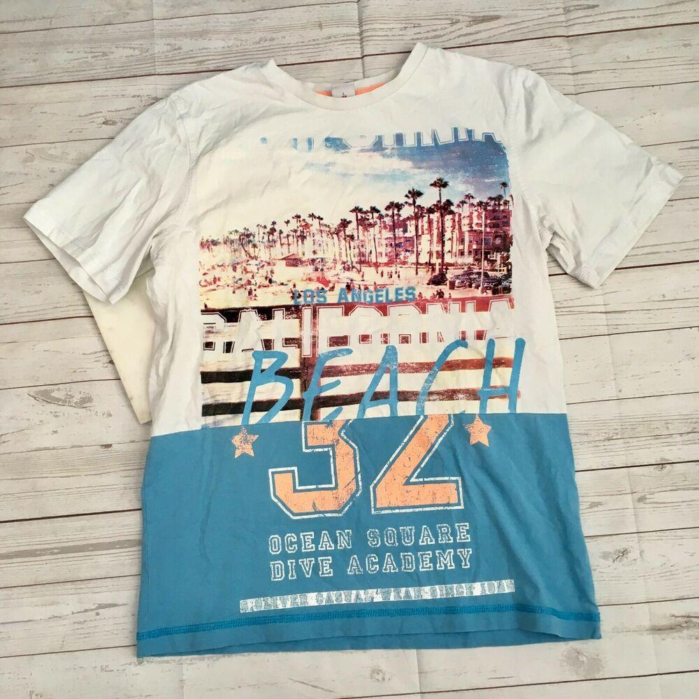 S Oliver Girls L Beach T Shirt Los Angeles California Ocean Square Dive Academy Fashion Clothing Shoes Accessories Kidsclot Beach T Shirts Shirts T Shirt