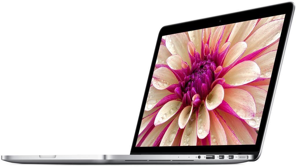 Apple MacBook Pro 15 Retina (Core i7/2.2GHz/15.4/16Gb/256Gb/Pro Graphics 5200/MacOS X/Silver) MJLQ2RU/A