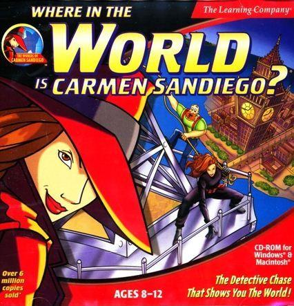 Google Image Result For Http Farm5 Static Flickr Com 4049 4509282312 23a3f475 Carmen Sandiego Carmen Sandiego Game 90s Kids