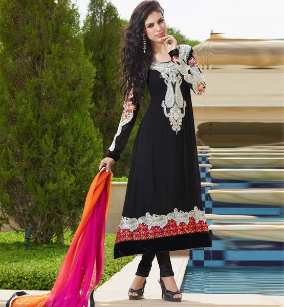Anarkali dresses online shopping in India with cash on delivery ...