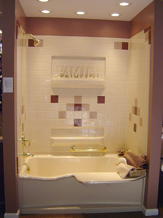 Superior Kid And Senior Friendly With Handy Built In Ledge Seat Best Bath