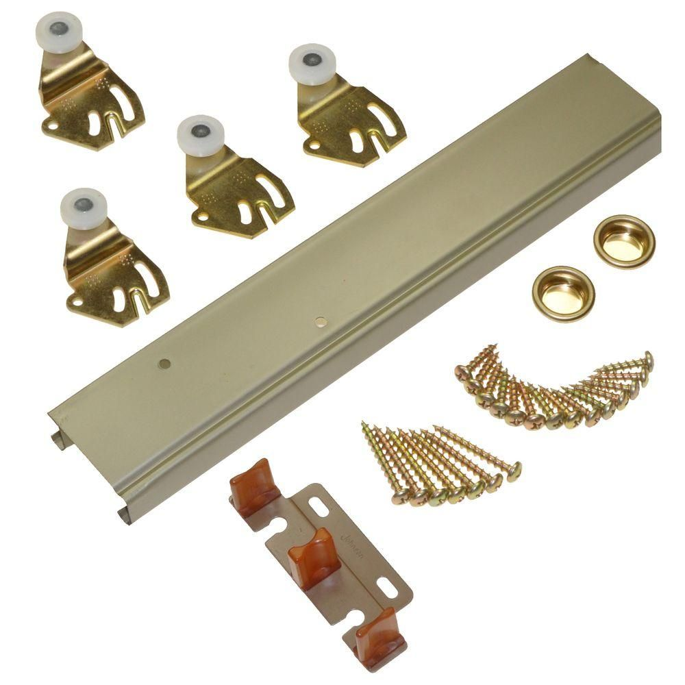 Johnson Hardware 1166 Series 48 In Sliding Bypass Track And