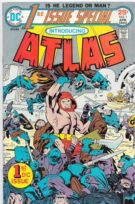 Atlas #1 Bronze Age DC Comics F/VF