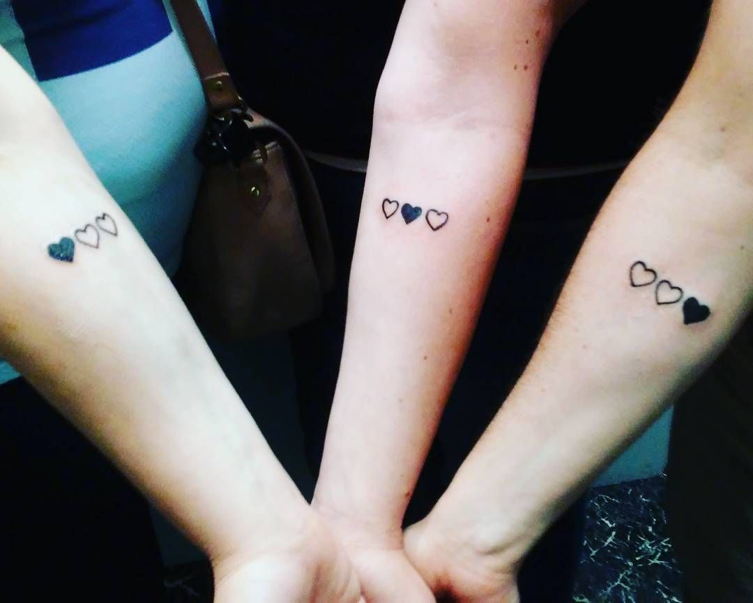 26 matching family tattoos that prove ink is as strong as