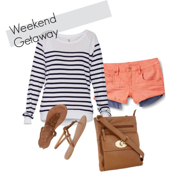 Weekend Getaway, created by kmgoin2 on Polyvore