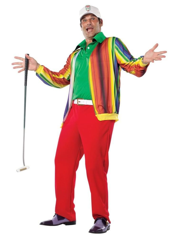 Caddyshack Al Czervik Adult Fancy Dress Costume | eBay  sc 1 st  Pinterest & Caddyshack Al Czervik Adult Fancy Dress Costume | eBay | Costumes ...