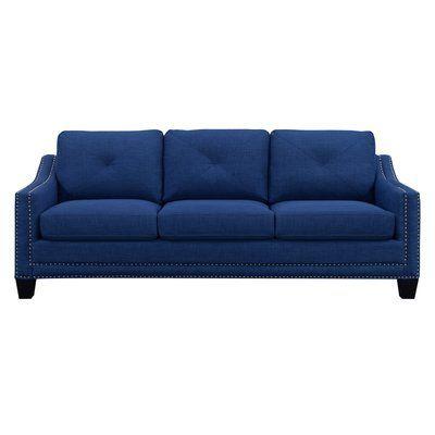 August Grove Vaillancourt Sofa Upholstery Blue Sleeper Sofa
