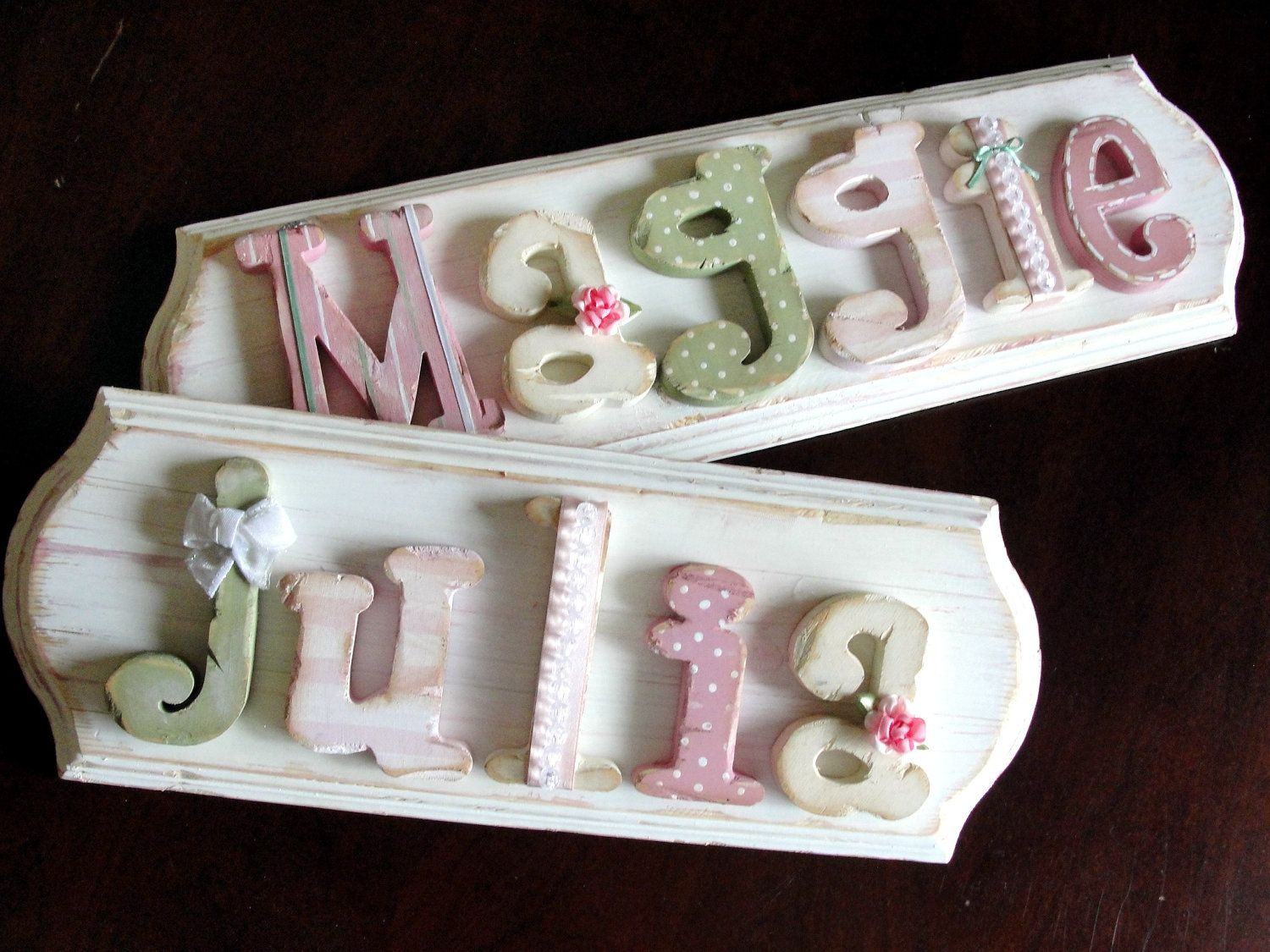 Www Serendipityhi Custom Name Plaques Letters And