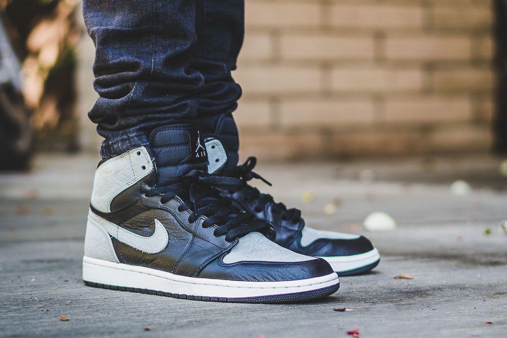 2009 Air Jordan 1 Shadow On Feet Sneaker Review