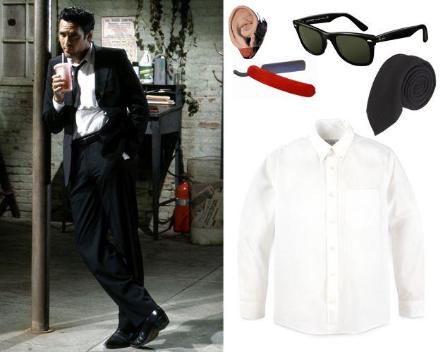 Mr White Costume - Reservoir Dogs Fancy Dress Cosplay  Reservoir Dogs Cosplay
