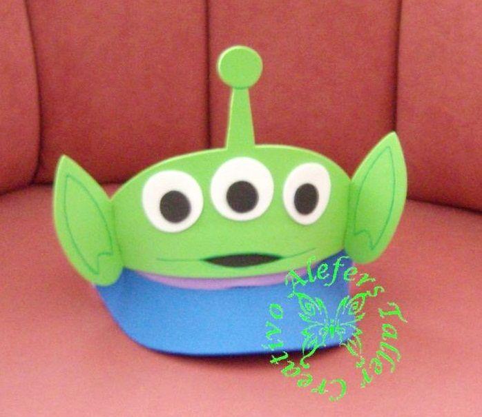 Resultado de imagen para viseras en foami toy story Sombreros De Goma Eva bdf2bd7f793