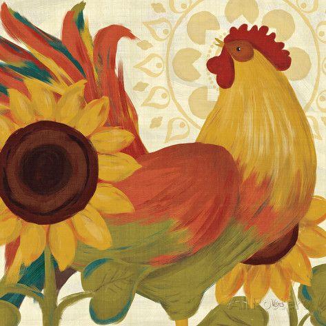 Spice Roosters II Láminas por Veronique Charron en AllPosters.es