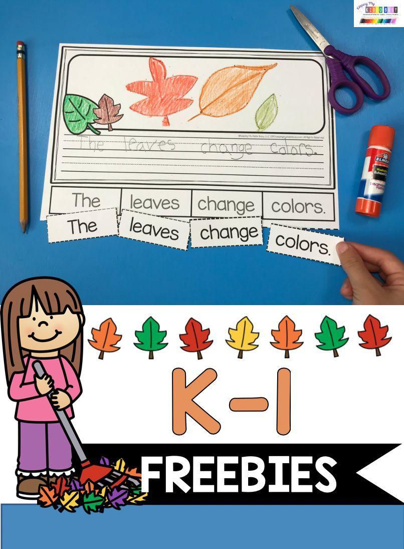 All About Fall Freebie Keeping My Kiddo Busy Kindergarten Writing Activities Fall Kindergarten Fall Writing Activities [ 1094 x 806 Pixel ]