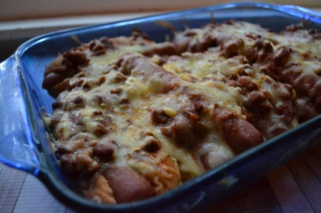 Making Miracles: Baked Chili Hot Dogs #myallrecipes #IMadeIt #AllRecipesAllStars