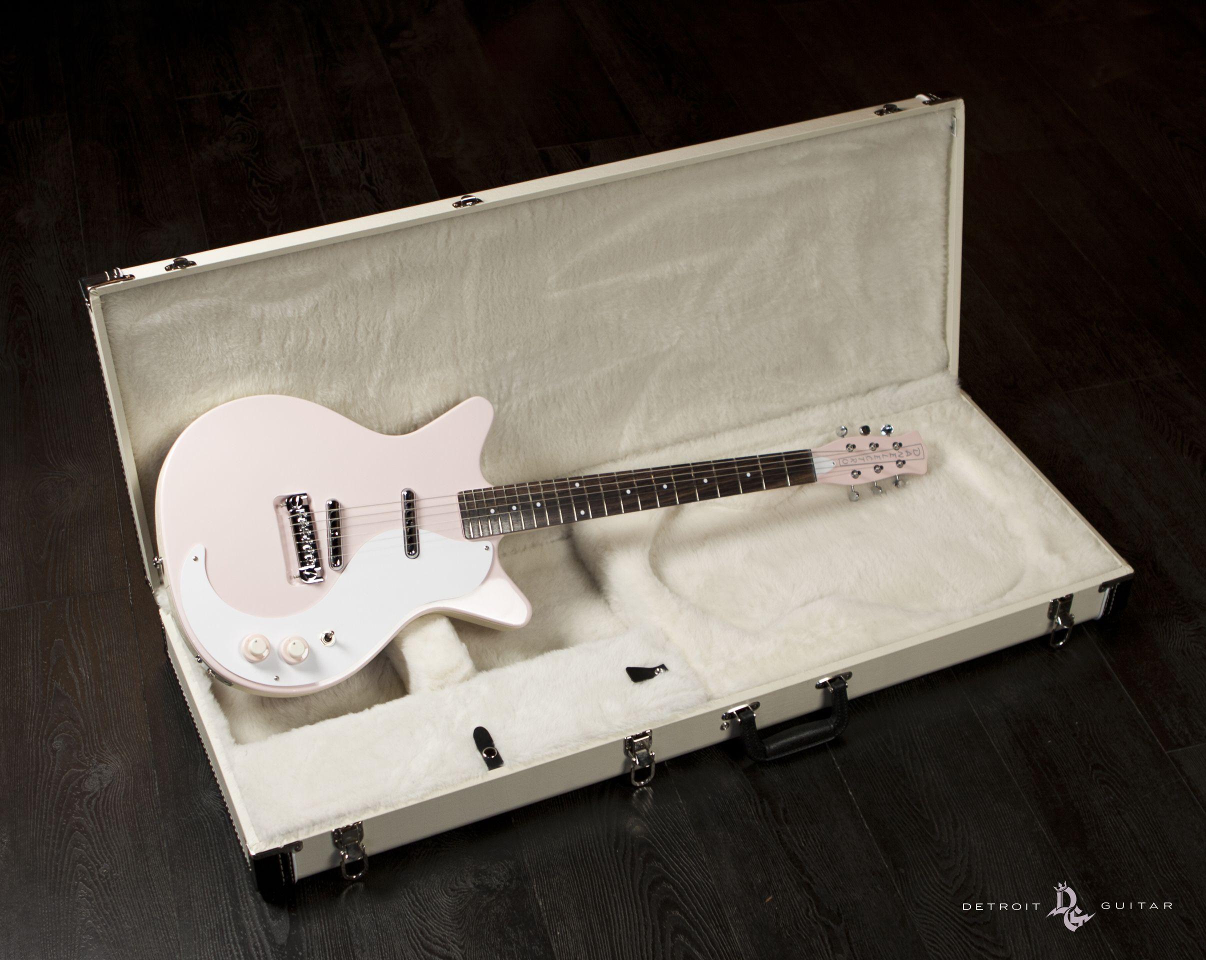 Danelectro 59 NOS Thunderbird Pink Detroit Guitar Exclusive