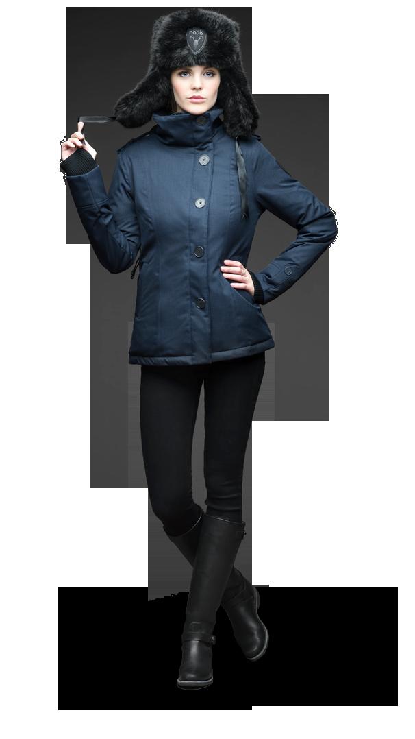 THE MIRIAM Midweight Ladies Hip Length Jacket http://www.nobisale.com