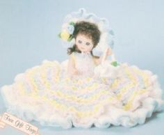 Free Bed Doll Patterns | CROCHET PATTERNS FOR BED DOLLS « Free Patterns #bearbedpillowdolls