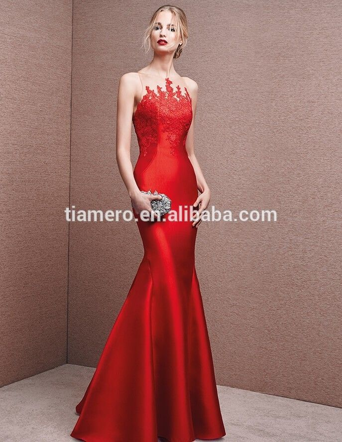 f81fdac3df6 China Guangzhou Dress Factory 2016 Lace Design V Neck Evening Dresses Fish  Cut Applique Off-shoulder Wedding Dress - Buy 2016 Lace Design