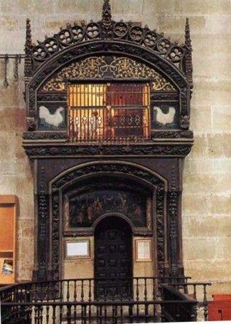 Le 19 Août 2007 Jour 17 à Santo Domingo De La Calzada Blog De Voyage De Guy Et Simones Camino De Santiago Spain Eiffel Tower Inside
