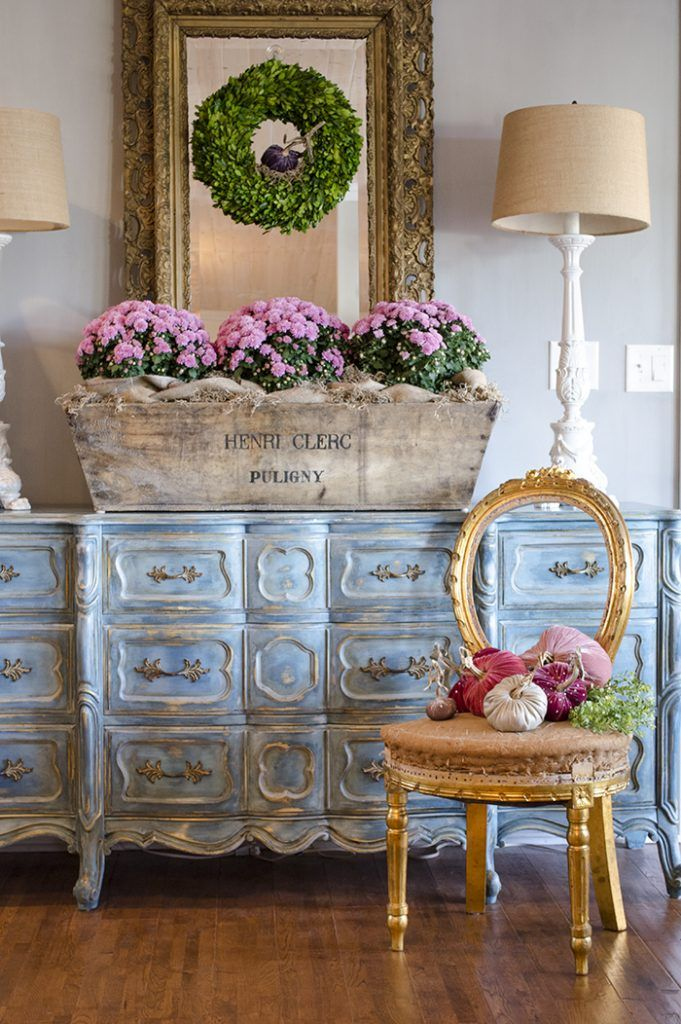Photo of Foyer Decorating Ideas for Fall: Simply Pumpkins