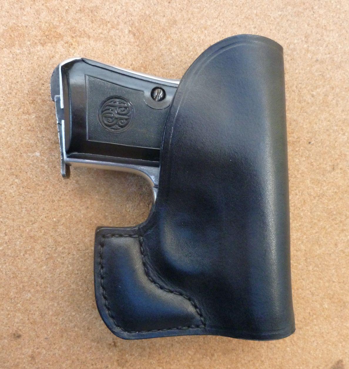 A sleek pocket carry design for the original James Bond pistols