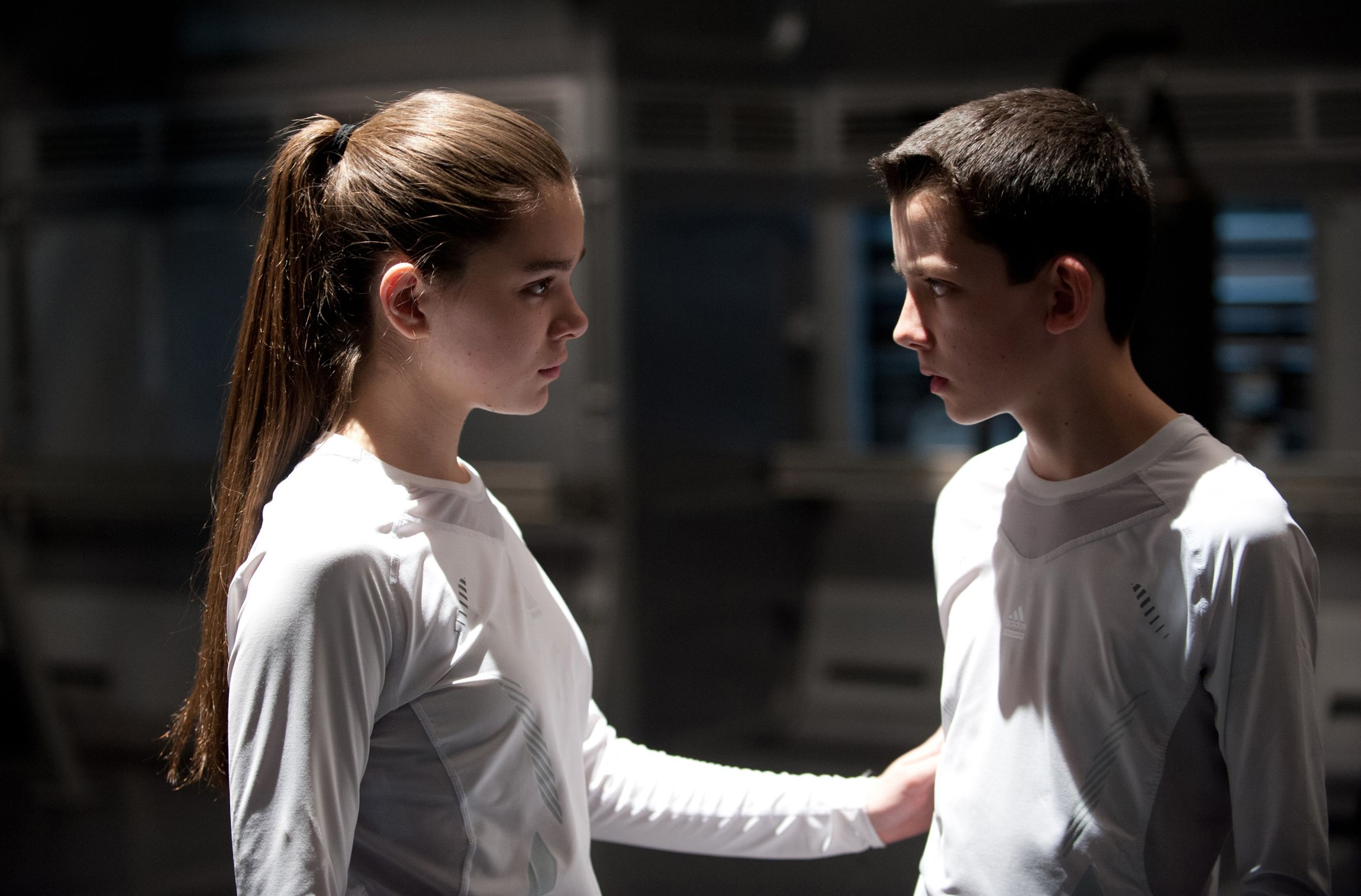 Asa And Hailee Enders Games 2013